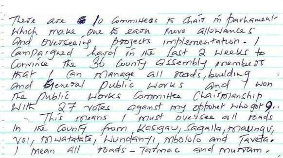 Page 3-1a Parliamentary Committees