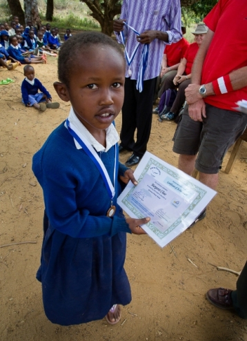 One of the prize winners